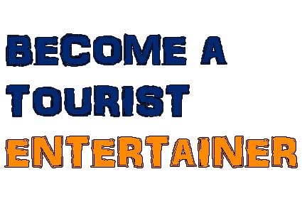 BECOME A TOURIST